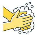 clean, cleaning, hand, hygiene, wash, washing icon