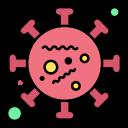 2, coronavirus, life, microorganism, virus icon