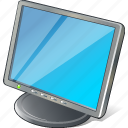 computer, desktop, display, monitor, screen icon
