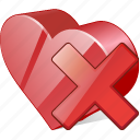 bookmark, delete, favorites, heart, like, love icon