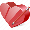 bookmark, edit, favorites, heart, like, love icon