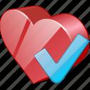 bookmark, favorites, heart, like, love, ok