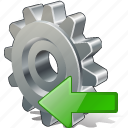 configuration, import, options, preferences, settings icon