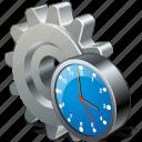 clock, configuration, preferences, settings, options