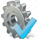 configuration, ok, options, preferences, settings icon