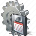 configuration, options, preferences, save, settings icon
