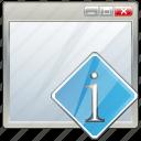 app, application, info, interface, window