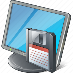 computer, desktop, display, guardar, monitor, save, screen icon