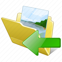 folder, gallery, images, import, media, my, pictures icon