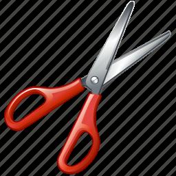 cut, scissors, tools icon