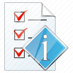 check, document, file, info, list, task, to do icon