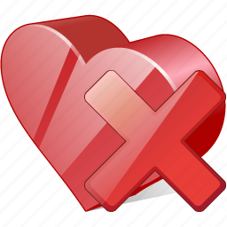bookmark, delete, favorites, heart, like, love icon