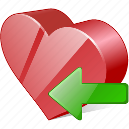 bookmark, favorites, heart, import, like, love icon