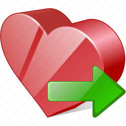 bookmark, export, favorites, heart, like, love icon