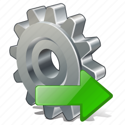 configuration, export, options, preferences, settings icon