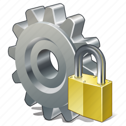 configuration, locked, options, preferences, settings icon