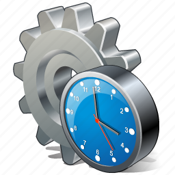 clock, configuration, options, preferences, settings icon