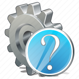 configuration, options, preferences, question, settings icon