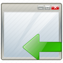 app, application, import, interface, window icon