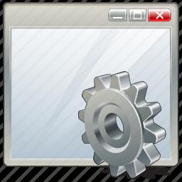 app, application, interface, settings, window icon