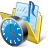 audio, clock, folder, media, music, my, songs icon