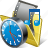 clock, film, folder, media, movie, my, video icon