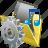 film, folder, media, movie, my, settings, video icon