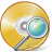 cd, compact, disc, disk, dvd, search, storage icon