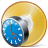 cd, clock, compact, disc, disk, dvd, storage icon