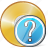 cd, compact, disc, disk, dvd, question, storage icon