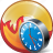 burn, cd, clock, compact, disc, disk, dvd icon