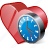 bookmark, clock, favorites, heart, like, love icon