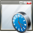 app, application, clock, interface, window icon