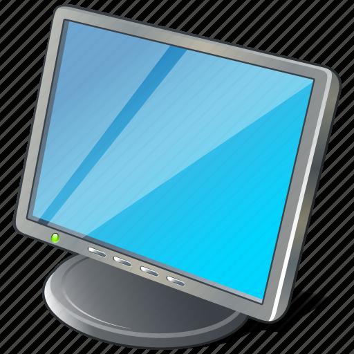 computer, desktop, display, monitor, screen icon