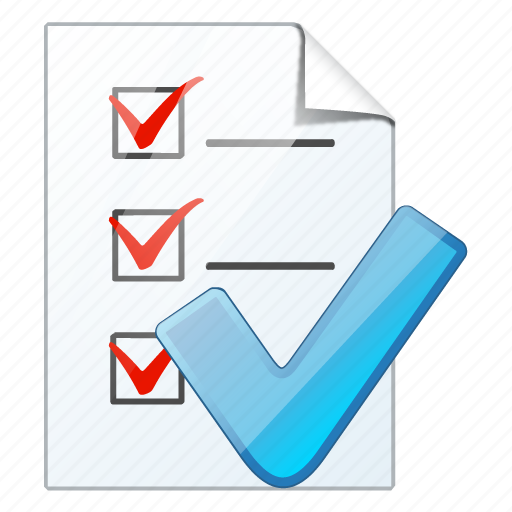 check, document, file, list, ok, task, to do icon