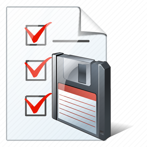 check, document, file, list, save, task, to do icon
