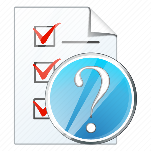 check, document, file, list, question, task, to do icon
