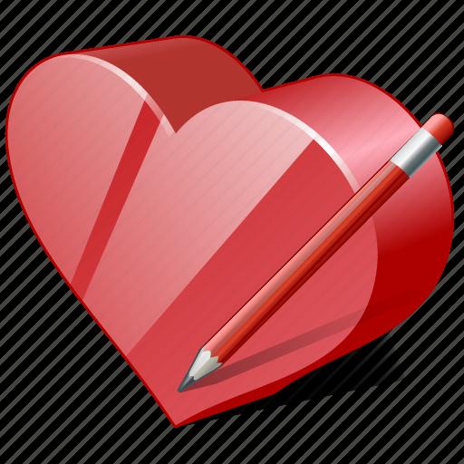 bookmark, edit, favorites, heart, like, love icon
