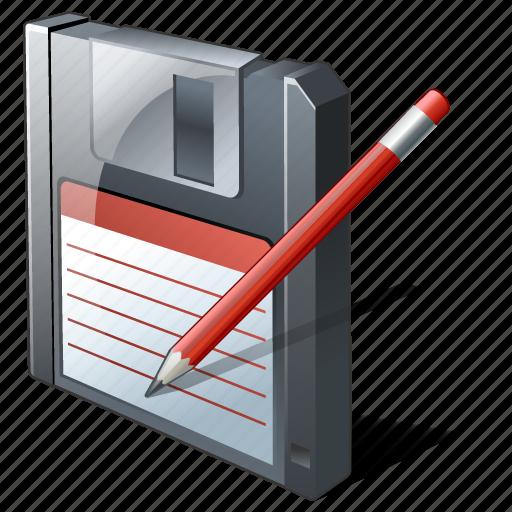 backup, data, disk, download, edit, file, floppy, guardar, save icon