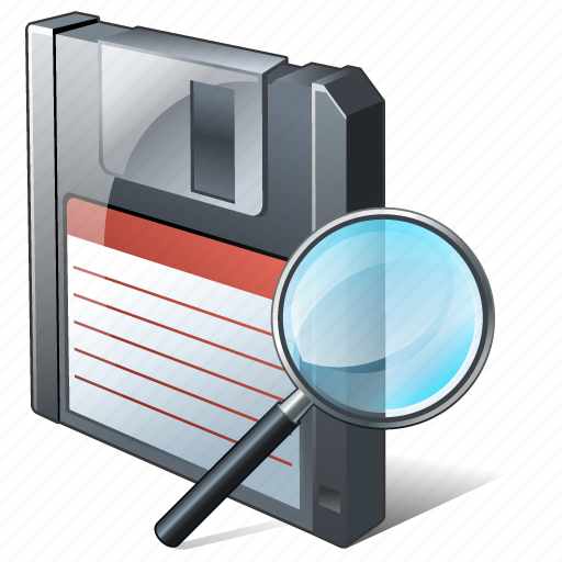 backup, data, disk, download, file, floppy, guardar, save, search icon