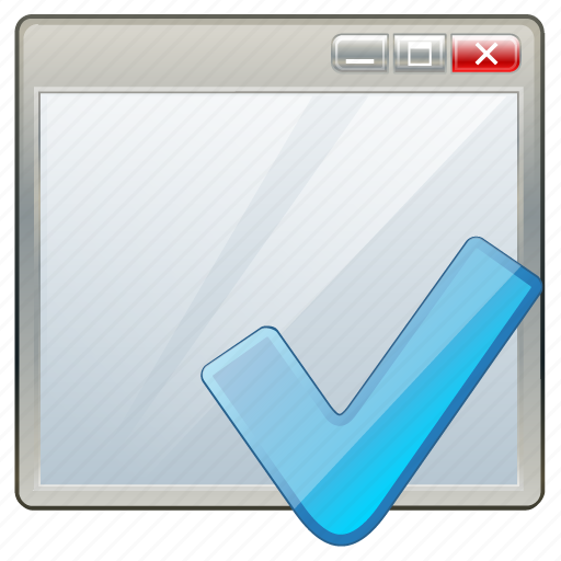 app, application, interface, ok, window icon