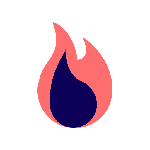 burn, camping, fire, fireplace, flame, hot, light, trend, trending icon
