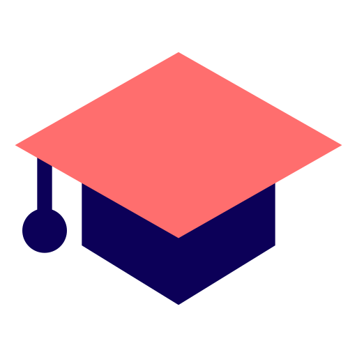 cap, certificate, college, degree, diploma, education, fashion, graduate, graduation, hat, learning, school, student, university icon