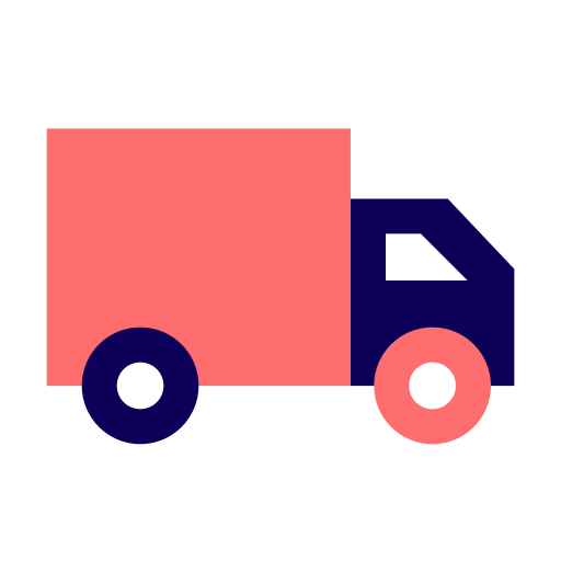 bus, courier, delivery, send, shipping, transport, transportation, truck, van, vehicle icon