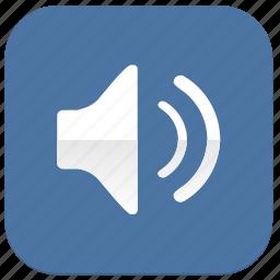 listen, music, sound, vkontakte icon