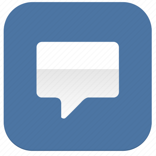 dialog, im, message, vkontakte icon
