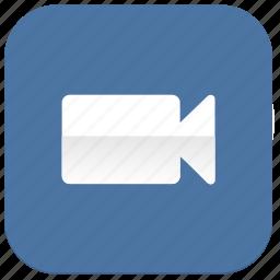 cam, camera, record, video, vk, vkontakte icon