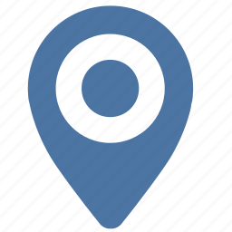 geo, location, pointer, vkontakte icon