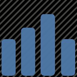 data, diagramm, info, statistics, vkontakte icon