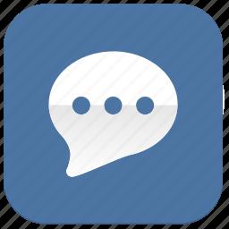 comment, im, vk, vkontakte icon